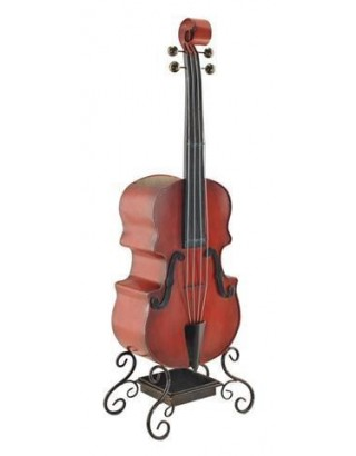 Paragüero violin metal 97.5x33x20 cm sign
